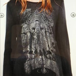 Zadig & Voltaire Willy print t shirt